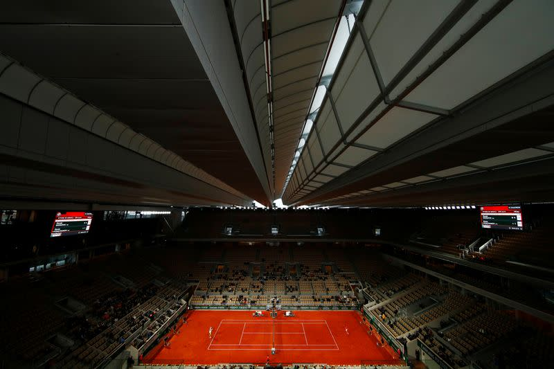 Highlights: French Open day nine