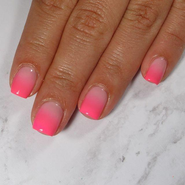 """<p>Short nailed girls rejoice! You don't need acrylics for this neon ombre design.</p><p><a href=""""https://www.instagram.com/p/B0cG1RBJF8B/"""" rel=""""nofollow noopener"""" target=""""_blank"""" data-ylk=""""slk:See the original post on Instagram"""" class=""""link rapid-noclick-resp"""">See the original post on Instagram</a></p>"""