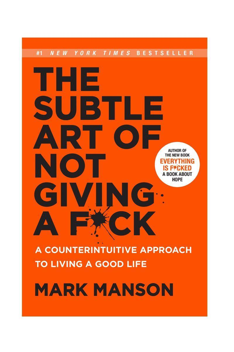 """<p>by Mark Manson</p><p>'F**k positivity,' says this book's author. 'Let's be honest, sh*t is f**ked and we have to live with it.' If that description of this down-to-earth and relatable book doesn't have you clicking 'buy', nothing will. </p><p>£10</p><p><a class=""""link rapid-noclick-resp"""" href=""""https://www.amazon.co.uk/Subtle-Art-Not-Giving-Counterintuitive/dp/0062457713/ref=sr_1_3?keywords=self+help+books&qid=1577193707&refinements=p_72%3A419153031&rnid=419152031&sr=8-3&tag=hearstuk-yahoo-21&ascsubtag=%5Bartid%7C1921.g.30324280%5Bsrc%7Cyahoo-uk"""" rel=""""nofollow noopener"""" target=""""_blank"""" data-ylk=""""slk:SHOP NOW"""">SHOP NOW</a></p>"""