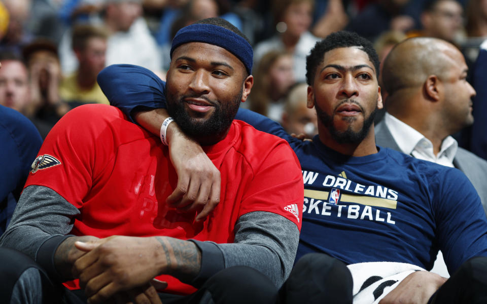 Can DeMarcus Cousins and Anthony Davis make the dual-big model work in today's NBA. (AP)