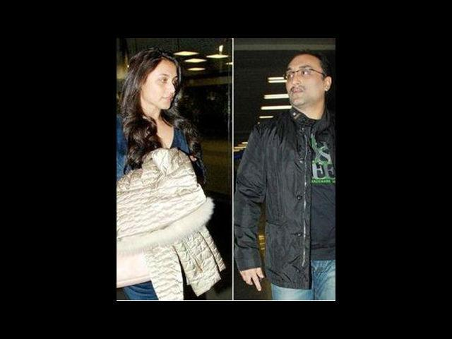 <b>7. Rani Mukerji and Aditya Chopra</b><br>The most private and camera shy affair of the tinsel-town. Rani and Aditya were to get married in December, 2012 but it got pushed to next year due to the unfortunate demise of Yash Chopra. Rani was recently spotted on a vacation with the Chopra family. Not sure, if she would continue working or not after marriage but we only hope this year is super lucky for them both personally and professionally.