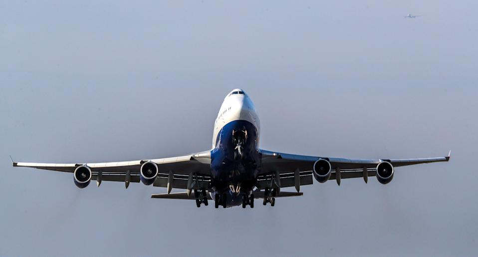 A plane takes off from Heathrow (PA Archive)