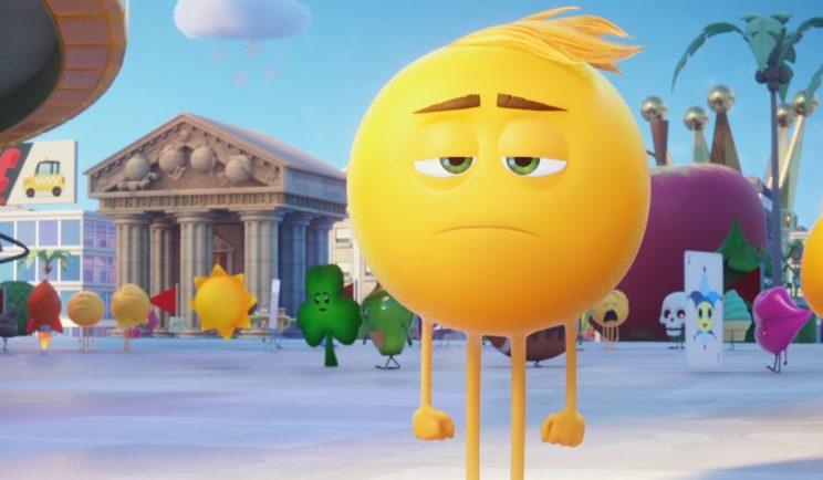 'The Emoji Movie'. (Credit: Sony)