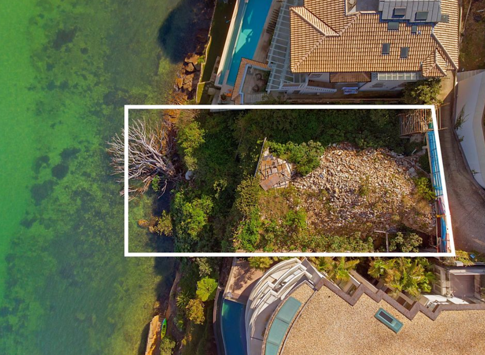 This Point Piper block of land has sold again. Source: Domain