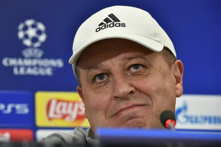 Ukrainian coach Yuriy Vernydub is tasked with plotting Sheriff's path -- they face Real Madrid next -- to the knockout phase of the lucrative Champions League (AFP/Sergei GAPON)