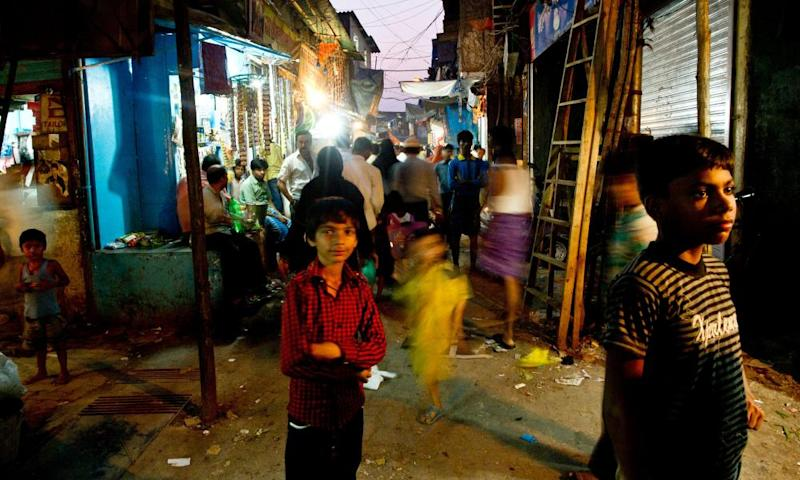 Dharavi, Mumbai, home to more than half a million people, making it one of the biggest, densest slums in Asia.