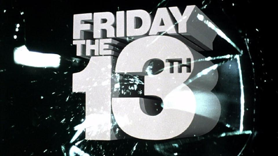 The title card for 1980's original 'Friday the 13th' (credit: Paramount)