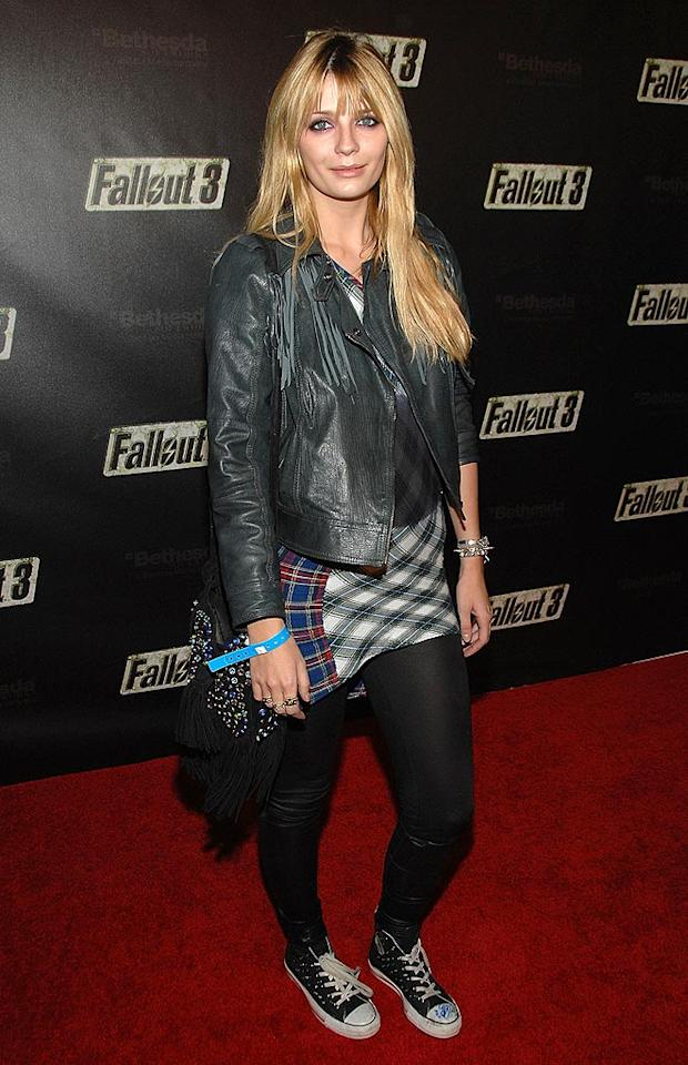 "Misha Barton arrives at the launch party for Fallout 3, a post-apocalyptic role-playing game. Instead of hitting the red carpet, Mischa should be getting some more shuteye! John Shearer/<a href=""http://www.wireimage.com"" target=""new"">WireImage.com</a> - October 16, 2008"