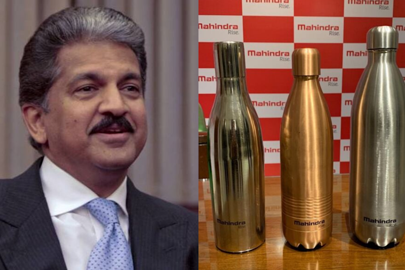 Anand Mahindra Takes Twitter's Advice, Replaces Plastic Bottles with 'Re-Fillable' Ones in Boardrooms