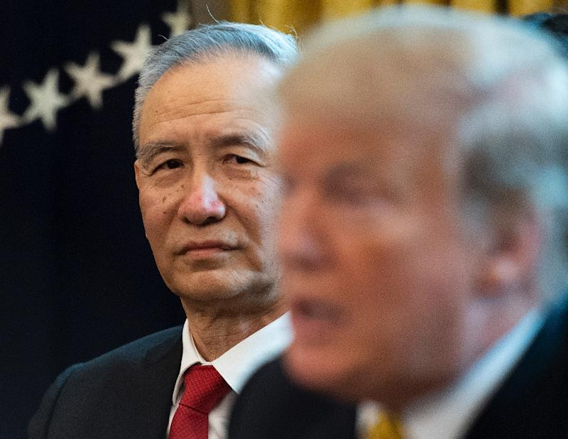 Beijing's top trade negotiator Liu He warned of retaliatory measures after the United States imposed further tariffs on imports from China