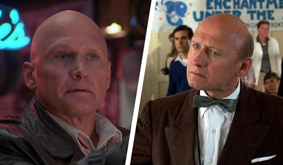 <p>A year before 'Masters of the Universe', actor James Tolkan starred alongside Tom Cruise in the iconic '80s flick, 'Top Gun'… and mostly portrays bald-headed authority figures. Perhaps most famously, he appeared as Principal Strickland in the 'Back to the Future' series. Most recently, he landed a role alongside Kurt Russell in 'Bone Tomahawk'. </p>