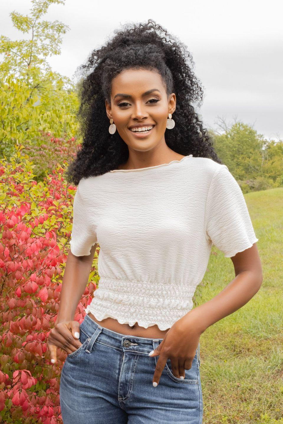 """<p>Magi is the oldest contestant competing for Matt's love at the age of 32. She's a pharmacist who lives in Washington, D.C., but she grew up in the small village of Adwa in Ethiopia. </p><p>As a result, Magi founded and works with <a href=""""https://msyshoes.org/about-us/"""" rel=""""nofollow noopener"""" target=""""_blank"""" data-ylk=""""slk:msyshoes.org"""" class=""""link rapid-noclick-resp"""">msyshoes.org</a>, which provides shoes to girls in developing nations so they can safely walk to school.</p><p>Her M.O.: """"Treat others the way your want to be treated.""""</p><p><strong>Age: 32</strong></p><p><strong>Hometown: Adwa, Ethiopia</strong></p><p><strong>I</strong><strong>n</strong><strong>stagram: <a href=""""https://www.instagram.com/magitareke/"""" rel=""""nofollow noopener"""" target=""""_blank"""" data-ylk=""""slk:@magitareke"""" class=""""link rapid-noclick-resp"""">@magitareke</a></strong></p>"""