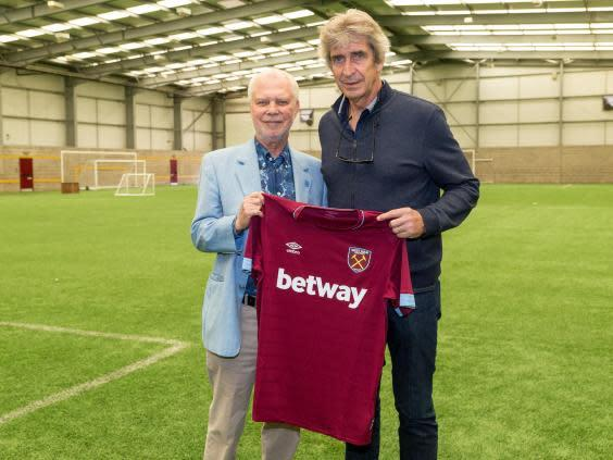 Pellegrini was hired by West Ham with much fanfare (Getty)