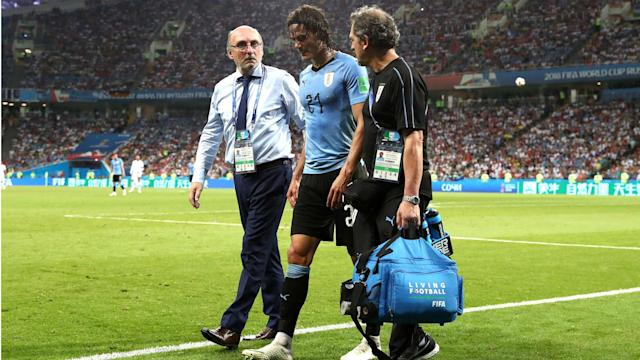 The Paris Saint-Germain striker pulled up with a hamstring injury against Portugal and does not look likely to be fit to face Les Bleus