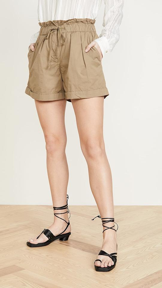 """<p>These comfortable <a href=""""https://www.popsugar.com/buy/Sea-Giselle-Waist-Tie-Shorts-575537?p_name=Sea%20Giselle%20Waist%20Tie%20Shorts&retailer=shopbop.com&pid=575537&price=175&evar1=fab%3Auk&evar9=47220072&evar98=https%3A%2F%2Fwww.popsugar.com%2Ffashion%2Fphoto-gallery%2F47220072%2Fimage%2F47488226%2FSea-Giselle-Waist-Tie-Shorts&list1=shopping%2Cshorts%2Cspring%20fashion%2Cbest%20of%202020&prop13=api&pdata=1"""" rel=""""nofollow"""" data-shoppable-link=""""1"""" target=""""_blank"""" class=""""ga-track"""" data-ga-category=""""Related"""" data-ga-label=""""https://www.shopbop.com/giselle-waist-tie-shorts-sea/vp/v=1/1588873585.htm?folderID=13297&amp;fm=other-shopbysize-viewall&amp;os=false&amp;colorId=10719&amp;ref_=SB_PLP_NB_9"""" data-ga-action=""""In-Line Links"""">Sea Giselle Waist Tie Shorts</a> ($175, originally $250) are fashionable and perfect for summer.</p>"""