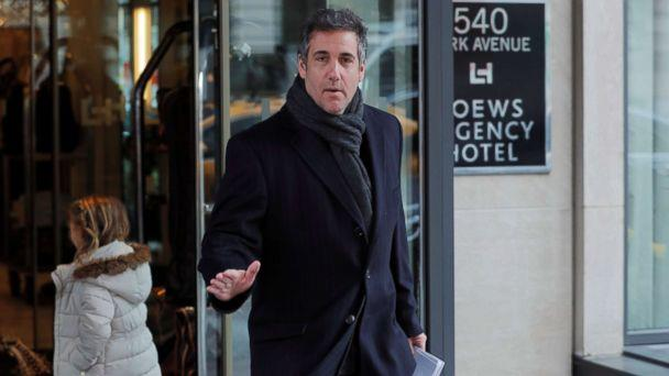 PHOTO: Donald Trump's personal lawyer Michael Cohen exits a hotel in New York City, April 15, 2018. (Lucas Jackson/Reuters)