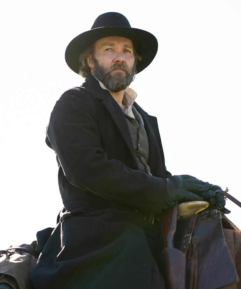 """<h2>Joel Edgerton plays Arnold Ridgeway<br></h2><br>Ridgeway is <a href=""""https://www.newsweek.com/underground-railroad-how-slave-catchers-track-down-plantation-runaways-1591605"""" rel=""""nofollow noopener"""" target=""""_blank"""" data-ylk=""""slk:a slave catcher"""" class=""""link rapid-noclick-resp"""">a slave catcher</a> with a reputation for being the best in his line of work. But the skills he takes pride in can't hide the religious and moral guilt he clearly struggles with. He sets his sights on capturing Cora and Caesar soon after their escape, a job he takes especially seriously since Mabel, Cora's mother, was the only slave to evade him.<br><br>Edgerton is famous for his starring roles in films like <em>Star Wars: Episode II and III</em>, <em>Zero Dark Thirty</em>, <em>The Great Gatsby</em>, and <em>Loving</em>.<span class=""""copyright"""">Photo: Courtesy of Amazon Studios.</span>"""