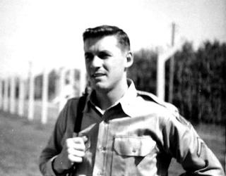 Dale Inman, shortly after his arrival in France with the U.S. Army in 1960. (Photo: Dale Inman)