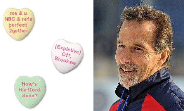 puck daddy's nhl valentine's day candy hearts gallery; eat it up, Ideas