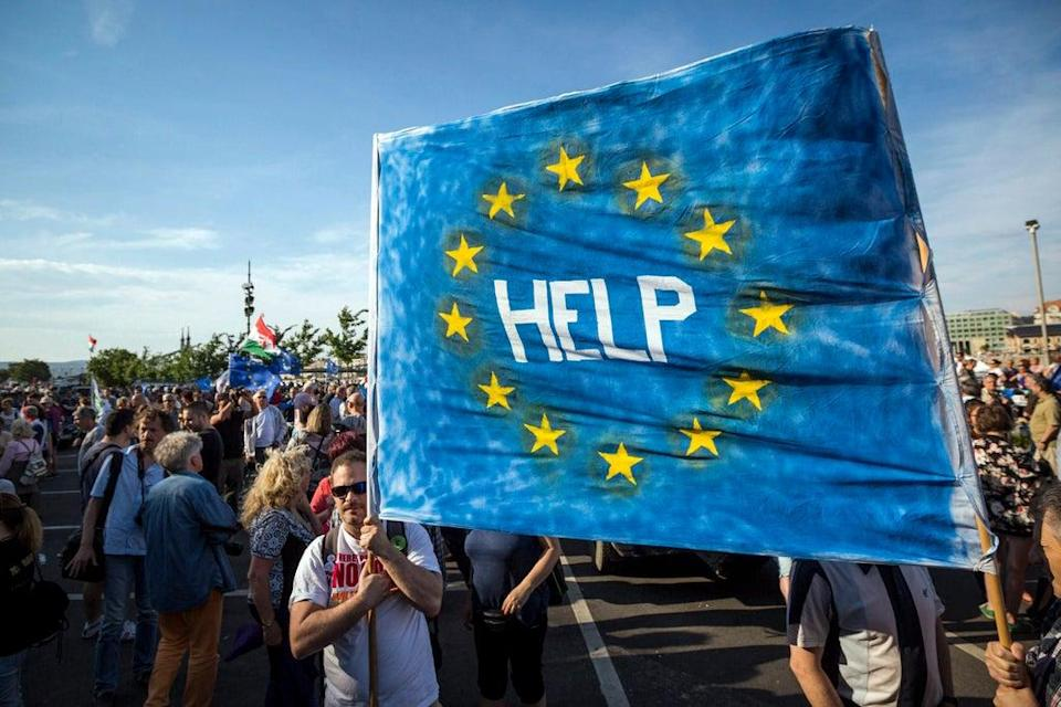 Hungary Poland Leaving EU? (MTVA - Media Service Support and Asset Management Fund)