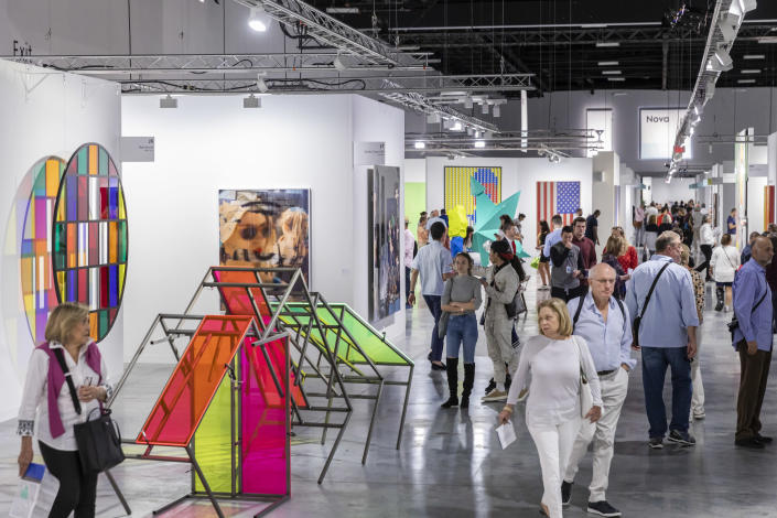Art Basel Miami Beach will be held from December 5 through 8, attracting more than 70,000 visitors.