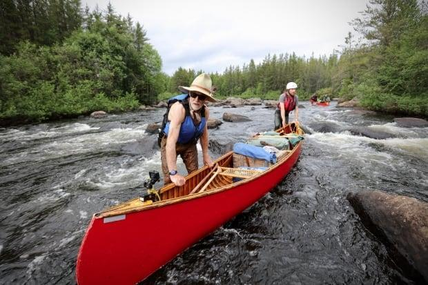 Alberta filmmaker Niobe Thompson's latest film follows a two-week canoe trip he took with his father, which he calls a