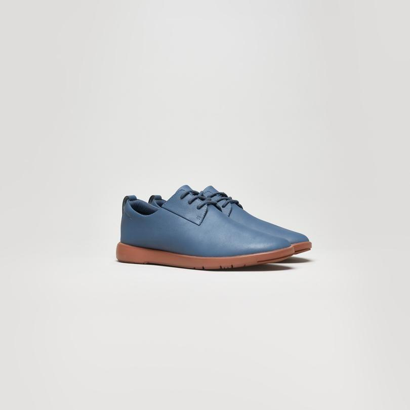 """<p>pontofootwear.com</p><p><strong>$129.00</strong></p><p><a href=""""https://pontofootwear.com/mens/slate-blue-1"""" rel=""""nofollow noopener"""" target=""""_blank"""" data-ylk=""""slk:BUY IT HERE"""" class=""""link rapid-noclick-resp"""">BUY IT HERE</a></p><p>Ponto is setting new standards of sustainability in the footwear industry. If the brand isn't on your radar yet, it should be. Ponto makes one gender-neutral shoe in three colors, and they make it from almost 100% recycled materials. The upper is recycled leather scraps and the soles are biodegradable plant-based foam, plus the lining, made of woven wood fibers, is naturally breathable and moisture absorbent. No socks needed! </p>"""