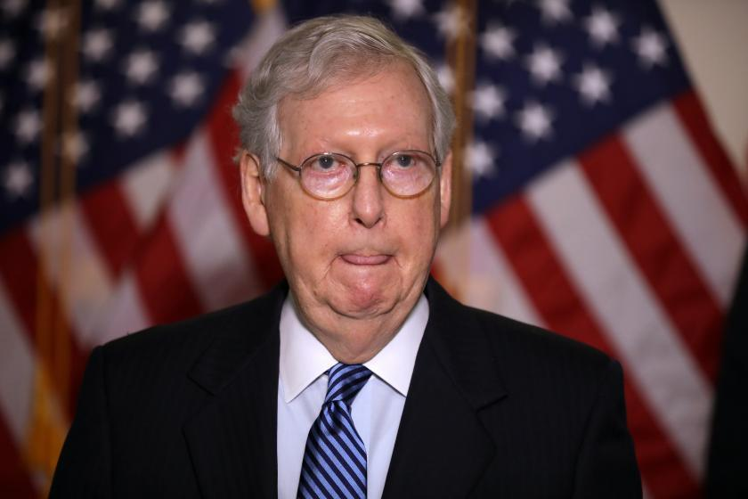 Mitch Mcconnell Says He Ll Fast Track A Trump Supreme Court Nominee