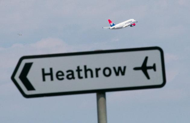 """A man in his 40s has died after """"a serious accident"""" involving two airport vehicles crashing on the airfield at Heathrow."""