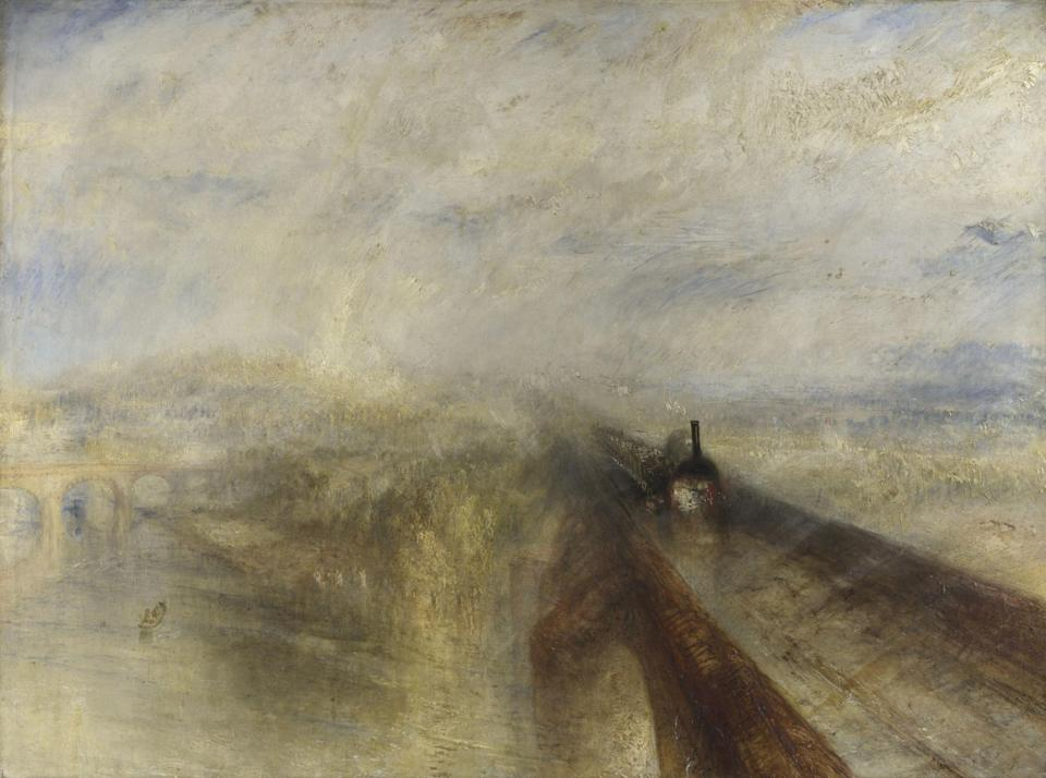 JMW Turner, Rain, Steam and Speed (The National Gallery) (JMW Turner, Rain, Steam and Speed (The National Gallery))