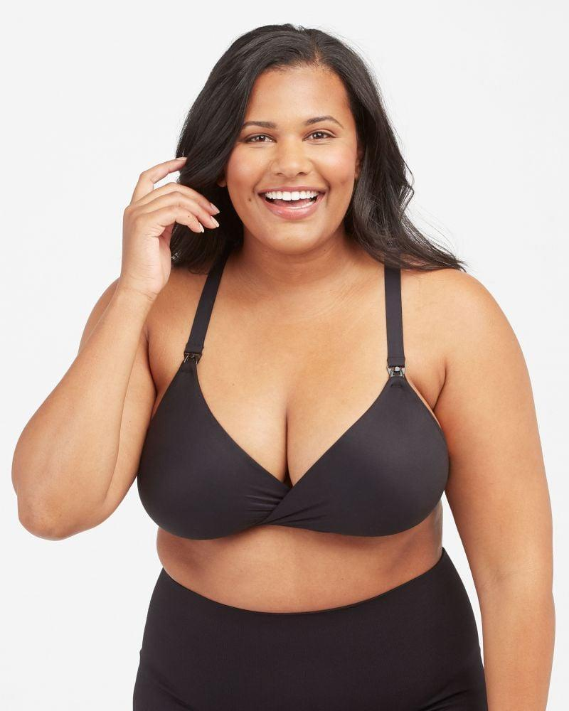 <p>As someone who never used to wear a bra to bed, I had no idea a bra would make a difference in my quality of sleep but the <span>Spanx Bra-llelujah! Mama</span> ($58) did! I'd originally gotten this bra to use for nursing, but once I tried it on, I never wanted to take it off. I love that it doesn't have any wires and has an all-hosiery back which is so perfect as my cup and band size increase. This helps me feel comfortable and supported during the night.</p>