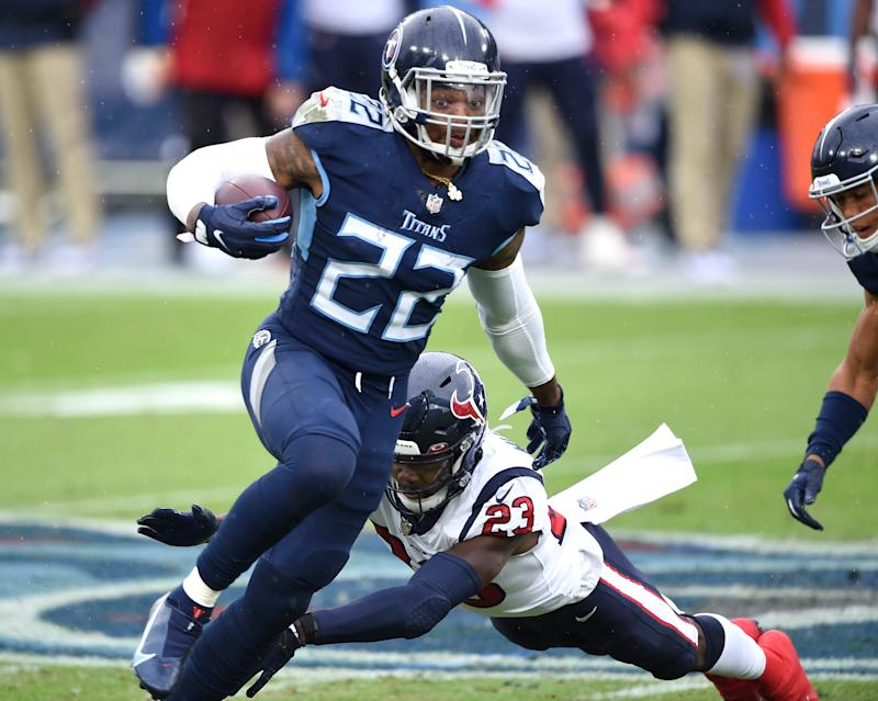 Watch: Titans' Derrick Henry breaks loose for 94-yard TD run
