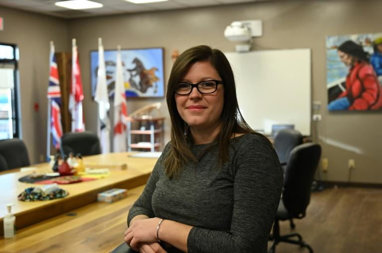 Curve Lake First Nation chief Emily Whetung