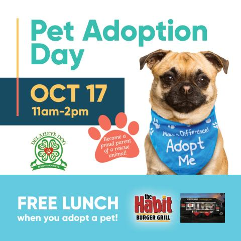 Pet Adoption & Member Appreciation Day Sponsored by Water and Power Community Credit Union