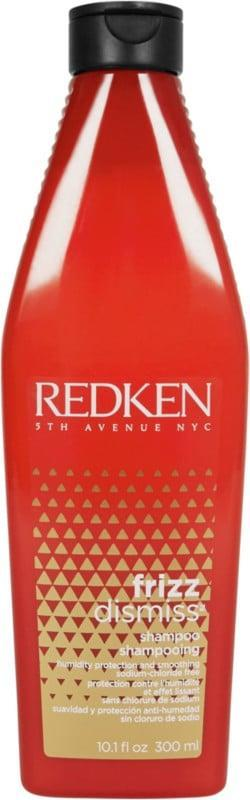 <p>The <span>Redken Frizz Dismiss Sulfate-Free Shampoo</span> ($30) will diminish any unwanted flyaways you're experiencing and won't dry out your hair.</p>
