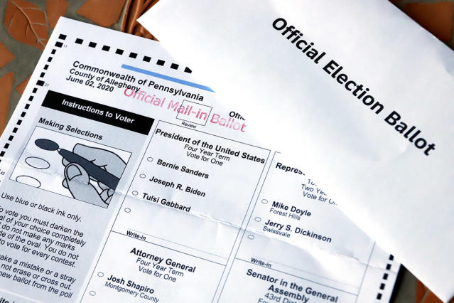 Pa County Official Doj Identified Discarded Ballots As Being For Trump