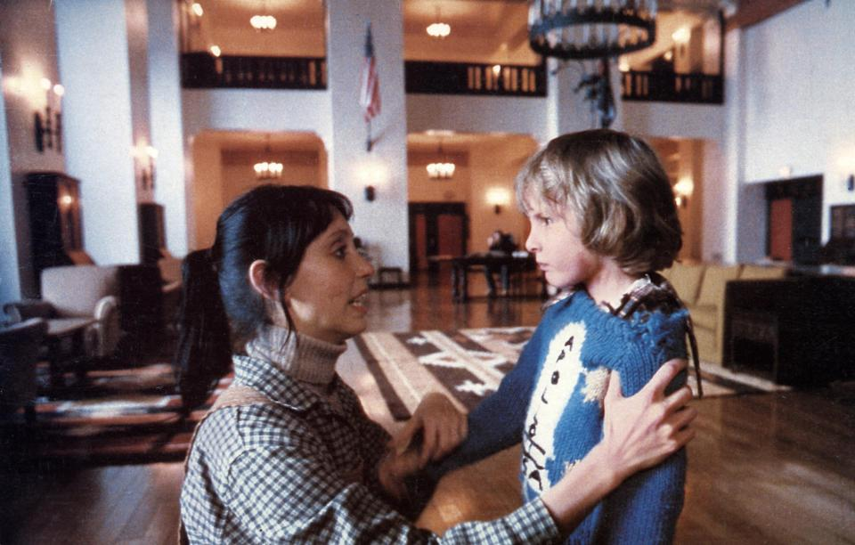 Onscreen mother and son Shelley Duvall and Danny Lloyd had very different experiences making <em>The Shining.</em> (Photo: Warner Bros./Courtesy of the Everett Collection)