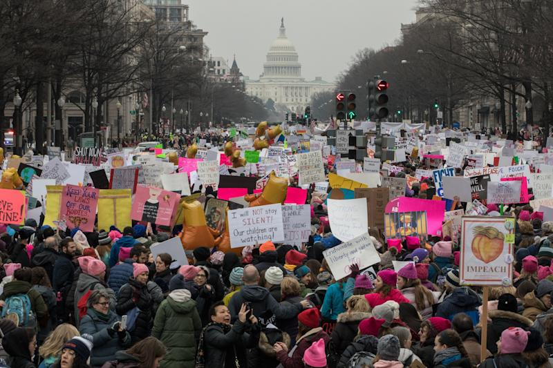 The Women's March on Washington.