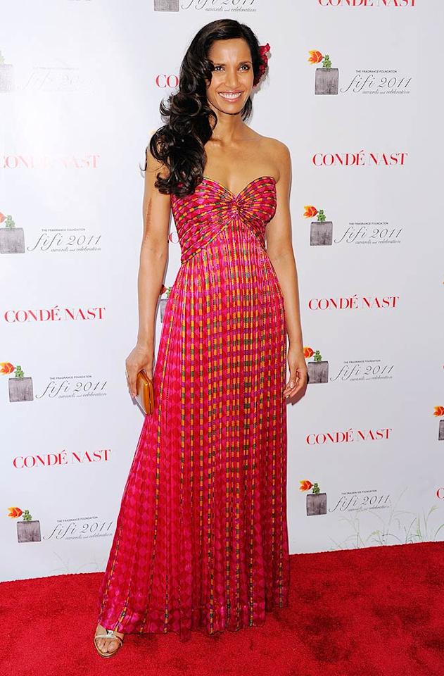 """Top Chef"" host Padma Lakshmi kept it old-school in a vintage Bob Mackie gown. Andrew H. Walker/<a href=""http://www.gettyimages.com/"" target=""new"">GettyImages.com</a> - May 25, 2011"