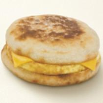 Dunkin' Donuts Egg & Cheese on English Muffin
