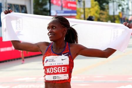 Kosgei among 11 nominees for female athlete of the year