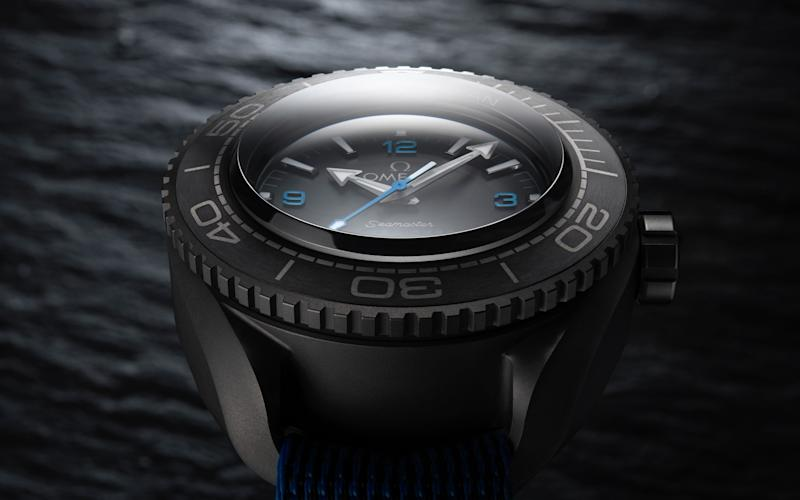 The Omega Ultra Deep was a key part of Victor Vescovo's diving equipment
