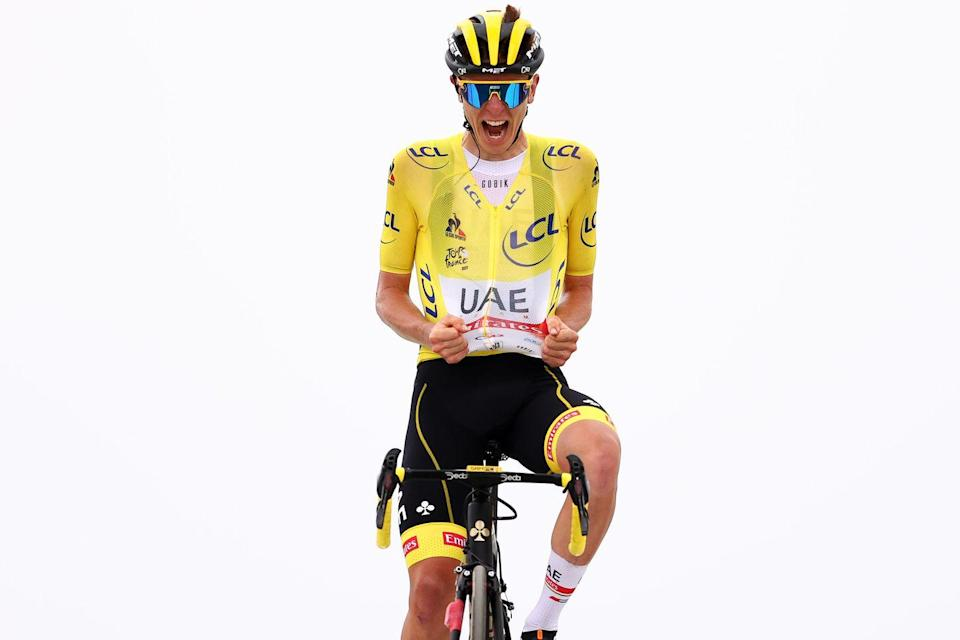 <p><strong>Who's Winning the Tour?</strong></p><p>Tadej Pogačar (UAE Team Emirates) won Stage 17 atop the Hors Categorie Col du Portet, extending his already sizeable lead in the 2021 Tour de France. Clearly eager to win a stage while wearing the yellow jersey, the Slovenian dropped his two breakaway companions 100 meters from the finish line.</p><p>Denmark's Jonas Vingegaard (Jumbo-Visma) and Ecuador's Richard Carapaz (INEOS-Grenadiers) finished second and third on the day, and in doing so moved up to second and third overall, 5:39 and 5:43 behind Pogačar on the Tour's General Classification.</p><p>Pogačar's UAE Team Emirates squad rode a fantastic stage, especially Poland's Rafal Majka, who paced the yellow jersey halfway up the final climb, dropping several of the riders left in the leading group before pulling-off about 8.4km from the summit. At that point, Pogačar launched the first of a series of accelerations, pulling away with Vingegaard and Carapaz to fight for the stage win.</p><p>Carapaz tried to win the stage for himself with an acceleration 1.4km from the summit, but Pogačar easily covered the move, biding his time before launching his own stage-winning attack right before the finish line.</p><p>By winning the stage, Pogačar also took maximum points in the Tour's King of the Mountains competition, which means that for the second year in a row, the Slovenian could take home three jerseys: yellow for winning the Tour, white for being the Tour's Best Young Rider, and polka dot for winning the Tour's King of the Mountains competition. Dutch rider Wout Poels (Bahrain-Victorious) leads the competition, but could have his hands full if Pogačar has another day like he did on Stage 17.</p><p><strong>Who's Really Winning the Tour?</strong></p><p>With only four stages left—including the largely ceremonial final stage to Paris—it's safe to say that Tadej Pogačar will win the 2021 Tour de France. Only a sudden illness, a crash, or some other unexpected mishap could 
