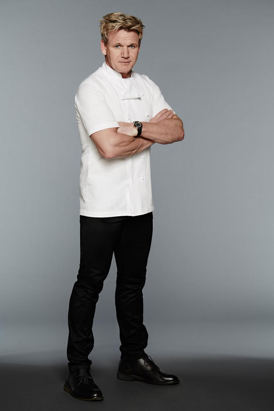 <p>The chef is to open five new restaurants in the capital</p>Gordon Ramsay