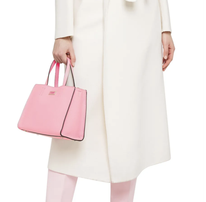 Kate Spade Textured-leather tote. (PHOTO: The Outnet)
