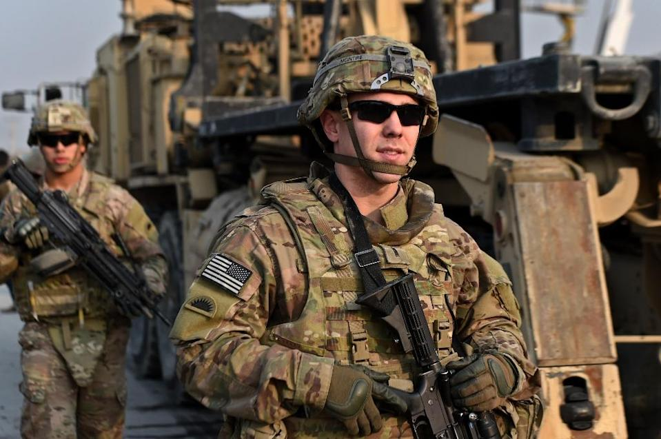 The United States will keep force levels at 9,800 through this year's fighting season, according to a US-Afghanistan joint statement (AFP Photo/Wakil Kohsar)