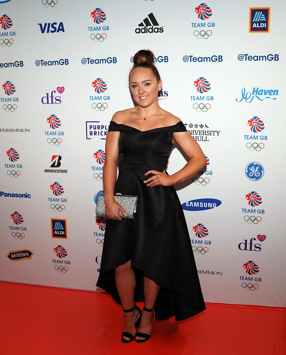 Amy Tinkler during the BOA Annual Dinner, Old Billingsgate, London. (Photo by Tess Derry/PA Images via Getty Images)