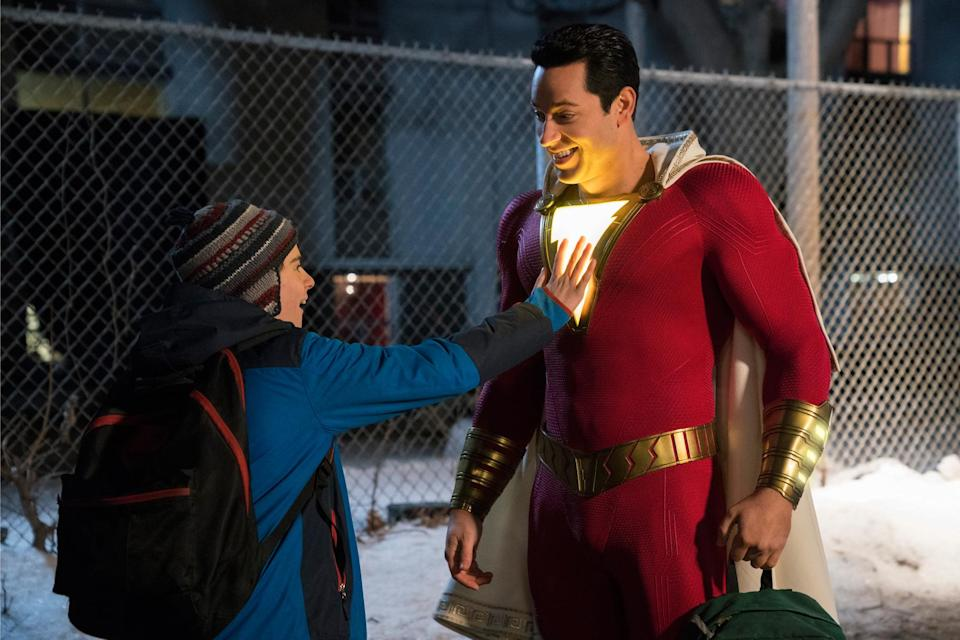 Early reactions to 'Shazam' compared it to 'Big', 'Ghostbusters' and 'The Goonies'(Warner Bros.)