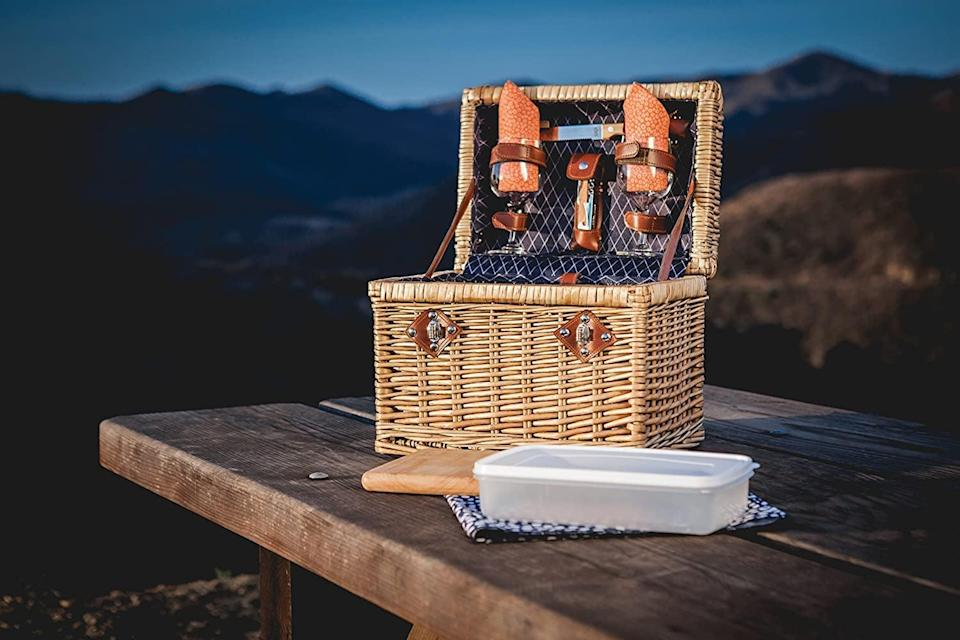 <p>This <span>Picnic Time Napa Picnic Basket</span> ($131) will pack all your essentials, and you'll use it year after year.</p>
