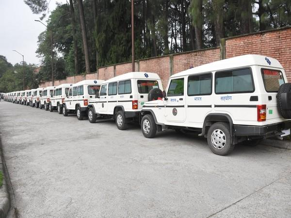 In a series of tweets, the Indian Mission in Nepal announced the handover of the transportation means on Friday morning.
